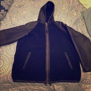 Men's supreme leather jacket